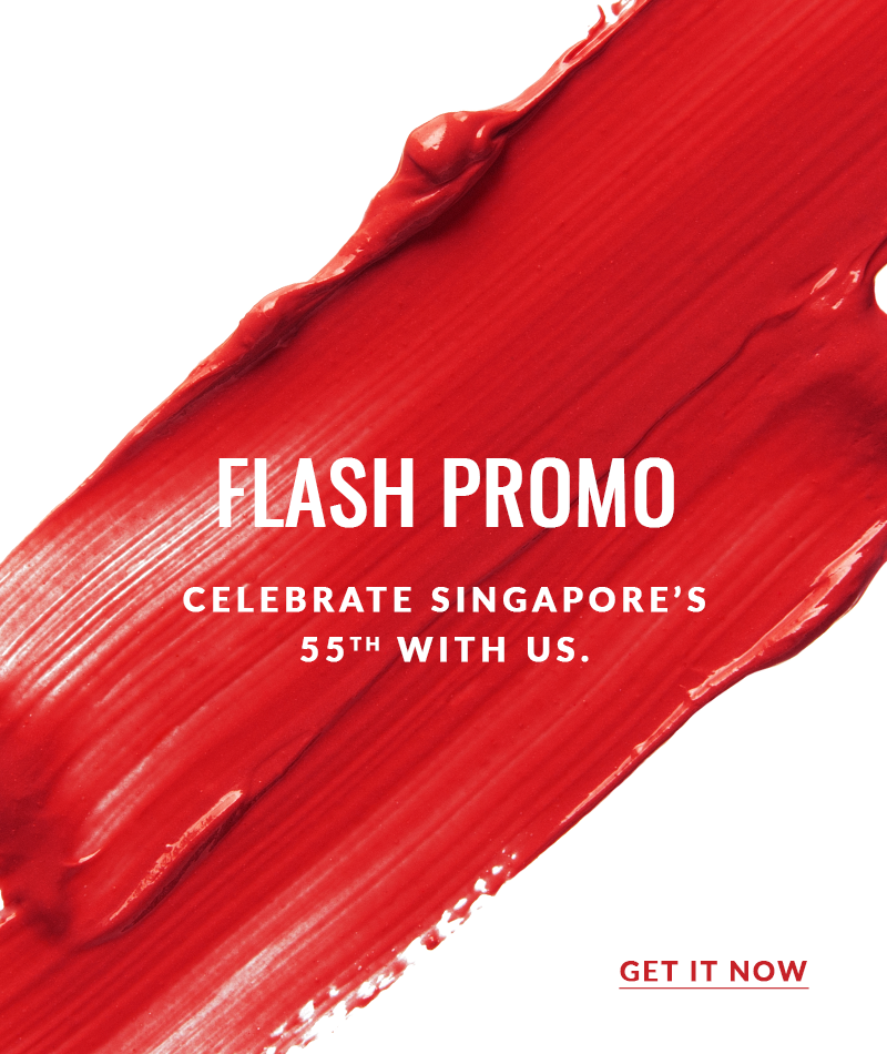 National Day Flash Promo - Redeem up to $440 worth of freebies by 14 July